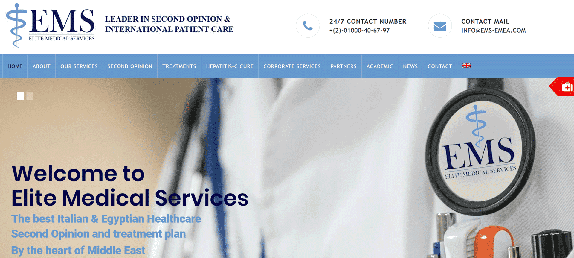 elite medical services portfolio clienti digital compass
