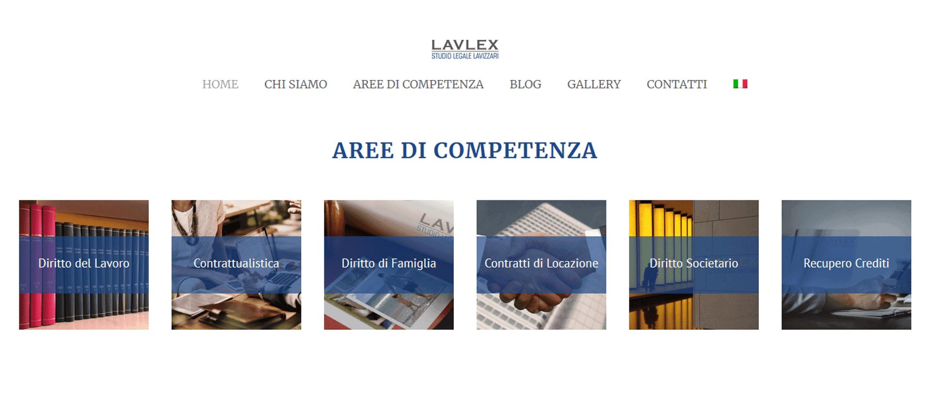 Lavlex Studio Legale Lavizzari Portfolio Digital Compass Aree di Competenza