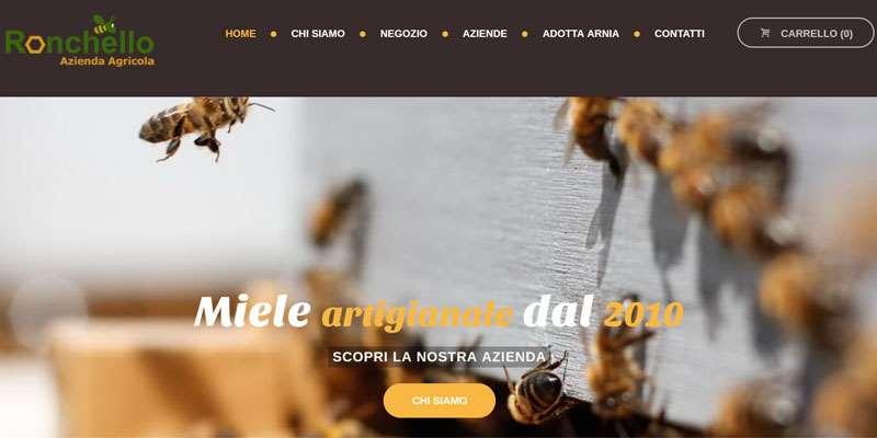 sito e-commerce mieleronchello by digital compass